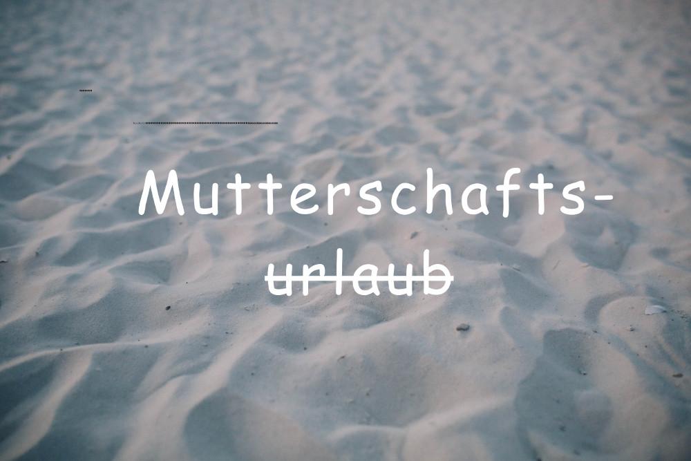 Über den Mutterschaftsurlaub in der Schweiz, kotzende Pferde und warum ich wieder arbeite(n) (will)!
